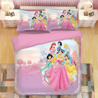 Beauty and the Beast Belle Quilt Cover Bedding Set 3PCS Duvet Cover Pillowcase