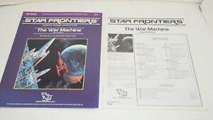 Star Frontiers Knight Hawks THE WAR MACHINE Adventure Module TSR SFKH4 7812