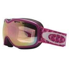 Oakley 57-579 STOCKHOLM Violet Studs w/ VR50 Pink Lens Womens Snow Ski Goggles .