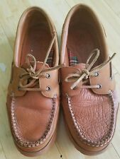Brown Mens Loafer driving  Shoes Scotch Size 9.5D