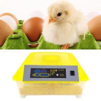 48 Egg Incubator Digital Fully Automatic Mini Egg Hatching Turning Machine New