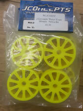 """J Concepts """"Rulux"""" Front Wheels - Yellow B4 - RC Car"""