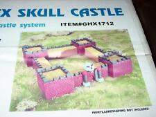 GEO-HEX SKULL CASTLE 10mm - Wargames Terrain Geo-Hex Gamescape  Fantasy (SEALED)