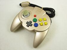 Nintendo 64 Controller HORI PAD MINI 64 Gold N64 Video Game Japan 1661
