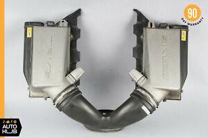 07-11 Mercedes W219 CLS63 E63 AMG M156 Air Intake Cleaner Filter Box MAS Set OEM