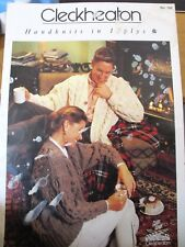 Cleckheaton Pattern book no.760  Ladies cardigans knits  size 80-105 ins.12 ply