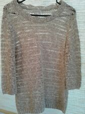 Christopher & Banks LADIES SIZE Medium Beige Sweater