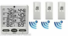 Ambient Weather Station Wireless Hygrometer Indoor Outdoor Thermometer Digital