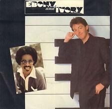 "PAUL McCARTNEY & STEVIE WONDER – Ebony And Ivory (1982 VINYL SINGLE 7"" HOLLAND)"