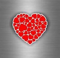 Sticker adesivi adesivo tuning auto moto bomb jdm biker amore cuore r4
