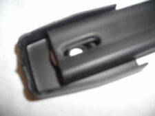 PENN ELCOM PAIR OF BLACK PLASTIC COVERED STEEL STRAP HANDLE AMP HEAD  H1010K