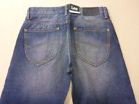 076 MENS NWT LEE L2 SLIM FLIPSIDE BLUE WASH JEANS SZE 28 $170 RRP.