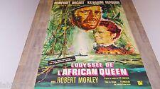 L'ODYSSEE DE L' AFRICAN QUEEN ! humprey bogart affiches cinema 120x160