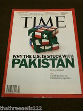 TIME MAGAZINE - WHY THE U.S. IS STUCK WITH PAKISTAN - MAY 23 2011