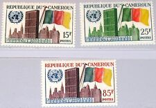 CAMEROUN KAMERUN 1961 329-31 340-42 Admission to UN Headquarters HQ Flag MNH