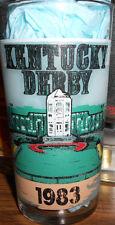 Kentucky Derby 1983 souvenir Derby Mint Julep Glass