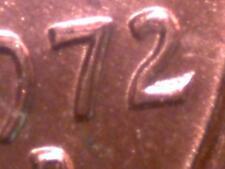 RED BU 1972-D/D DDO 1c RDC's 1 & 2; 2-Coin Set, SCARCE, Buy It Now, No Reserve!!