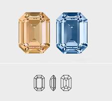 18mm x 13mm | Octagon | Swarovski Article 4610 | 3 Pieces - Choose Crystal Color