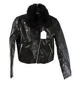 H&M Jacke Gr. 152 Mädchen Bikerjacke Freizeitjacke Übergangsjacke Jacket Schwarz