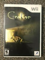 Coraline (Nintendo Wii, 2009) Complete w/Manual - Tested Working - Free Ship