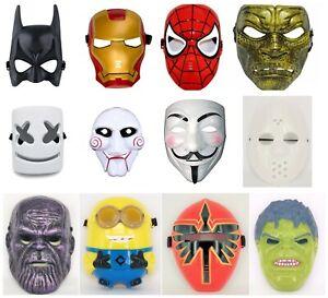 Cosplay Mask Thanos Spider Man Jason Voorhees Hulk Ironman Led Custome Party AU