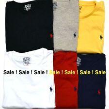 Brand New men's Ralph Lauren Cotton Short Sleeve Polo T-Shirt: All Size: S-XXL**
