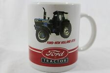 Ford New Holland 8730 Tractor advertizing coffee mug, flaw in red color shown