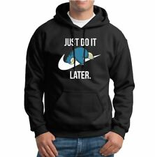Snorlax Just Do it Later  Mens Hoodies