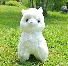 """Fresh"" Alpacasso White Alpaca 45cm Plush Amuse Arpakasso Fluffy Toy Gift"