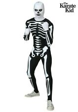 Adult Karate Kid Movie Authentic Skeleton Suit Costume Size S M L XL (Used)