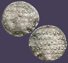 Archaios   Byzantine Constantine VII Silver MILIARESION Cross     i50.4