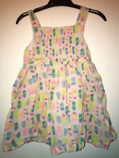 M&S Ice Lolly Summer Dress (18-24 Months)