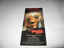 1998 WRONGFULLY ACCUSED PREMIERE SCREENING MOVIE TICKET - THE FUGITIVE SPOOF