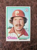 (1) 1978 Topps Baseball Mike Schmidt #360 - Philadelphia Phillies Legend