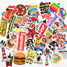 50PCS Stickers Vinyl Skateboard Guitar Travel Case sticker pack decals Mix Cool
