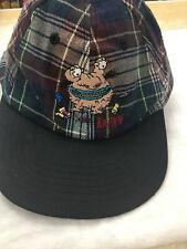 Nickelodeon Adult Plaid Cap with Strapback - CARTOON NETWORK