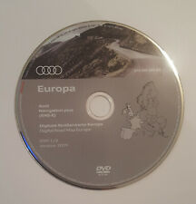 AUDI 2019 SEAT RNS-E PLUS SAT NAV DISC MAP UPDATE DVD UK & EUROPE