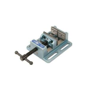 4-Inch Low Profile Drill Press Vise Jaw Cross Machine Heavy Duty Tool Clamp Mill