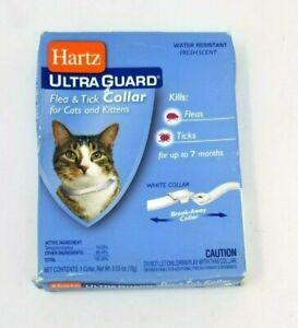 Hartz Ultra Guard Flea Tick Collar White Cat Collar
