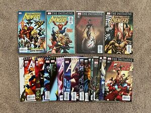 The Mighty Avengers #1-20 + Most Wanted Files, Marvel Comics, 2007, VF/NM