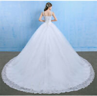 NEW Evening Formal  Ball Gown Prom Bridesmaid Wedding Long Tail Dress 4-22