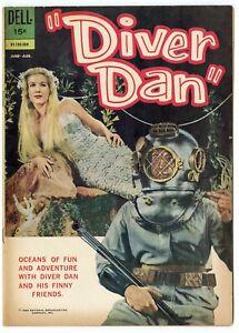 Diver Dan #2 FN- 5.5  Photo Cover  Dell  1962  No Reserve