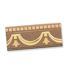 1/12th scale miniature dollhouse World&Miniatures real timber trim 35961