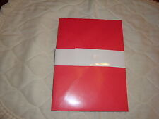 """NEW (RED) Greeting Card Size Envelopes 51/4""""X71/4"""" 1-pk of 10, for Valintine Day"""