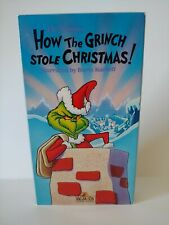 Vintage Dr. Seuss How the Grinch Stole Christmas (1966, Vhs) *Vg* Free Shipping