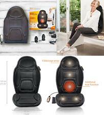 Asiento de masaje masajeador vibratorio,mando,5 programas,3 niveles,coche,hogar