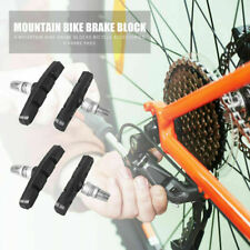 *FRONT* RED//BLACK BRAKE BLOCKS V TYPE/&CANTILEVER RIM PADS MTB HYBRID BIKES 2PCS