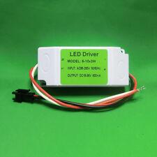 AC LED Driver +Shell 6~10x3W 600mA Power Supply Lamp Light Bulb 18W 24W 27W 30W