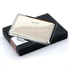 CARD HOLDER PREMIUM QUALITY STAINLESS STEEL with six sleeves