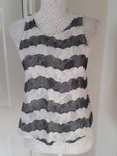 TopShop ladies vest style top size 8
